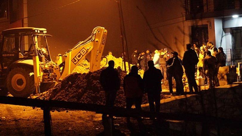 Son dakika... İstanbul'da göçük: 1 kişi hayatını kaybetti