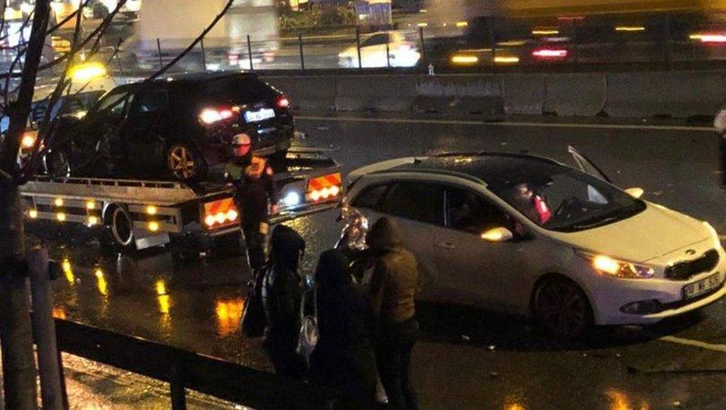 İstanbul'da zincirleme kaza! 1 ölü, 4 yaralı