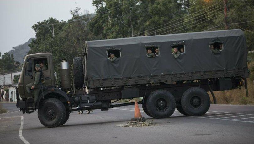 Venezuela, Kolombiya sınırını kapattı