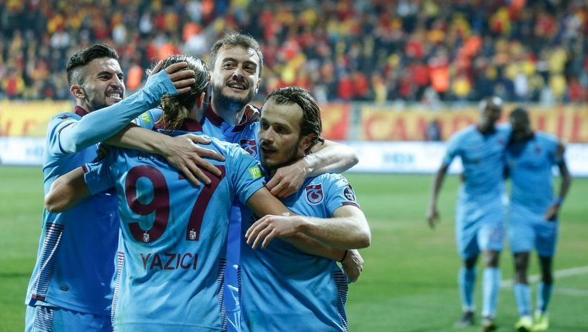 Trabzonspor ilk yarının izinde!