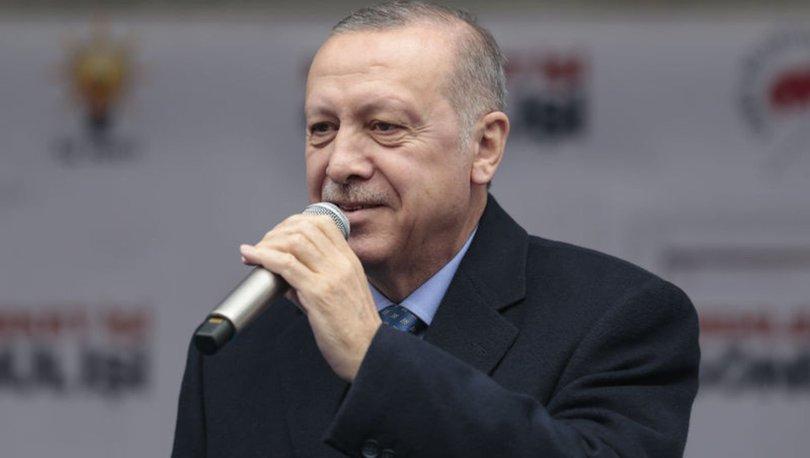 Cumhurbaşkanı Erdoğan'dan Kahramanmaraş'ta önemli mesajlar