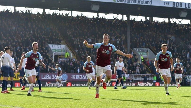 Burnley: 2 - Tottenham: 1 | MAÇ SONUCU