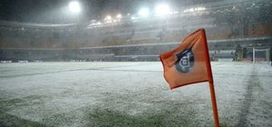 Başakşehir'deki maça kar engeli! İşte oynanacağı tarih