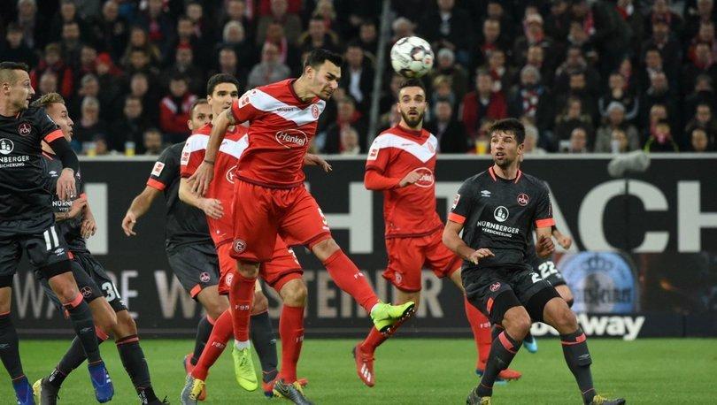 Fortuna Düsseldorf: 2 - Nürnberg: 1   MAÇ SONUCU