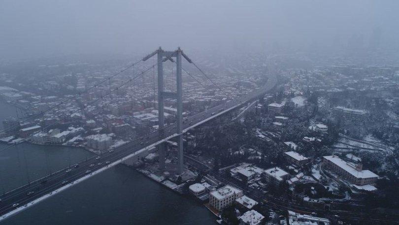 Yurt genelinde soğuk hava ve karla karışık yağmur!