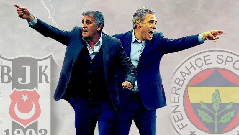 Beşiktaş - Fenerbahçe derbisine doğru...