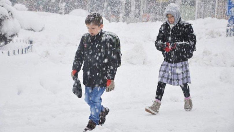 Kırklareli'de yarın okullar tatil mi? 25 Şubat Pazartesi Kırklareli kar tatili