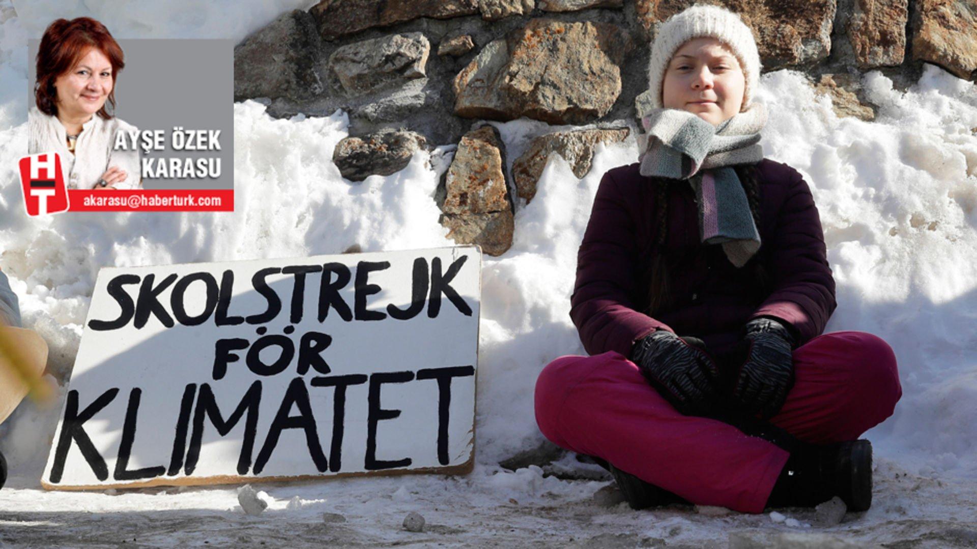 İklimci Greta kukla olsa ne yazar?