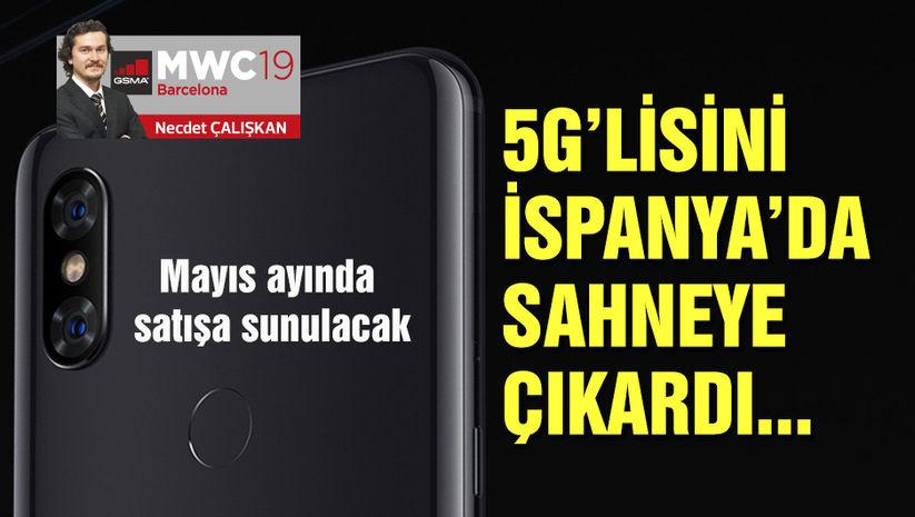 5G'li modelini İspanya'da sahneye çıkardı