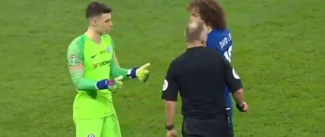 Kepa Arrizabalaga, Sarri'yi çıldırttı!