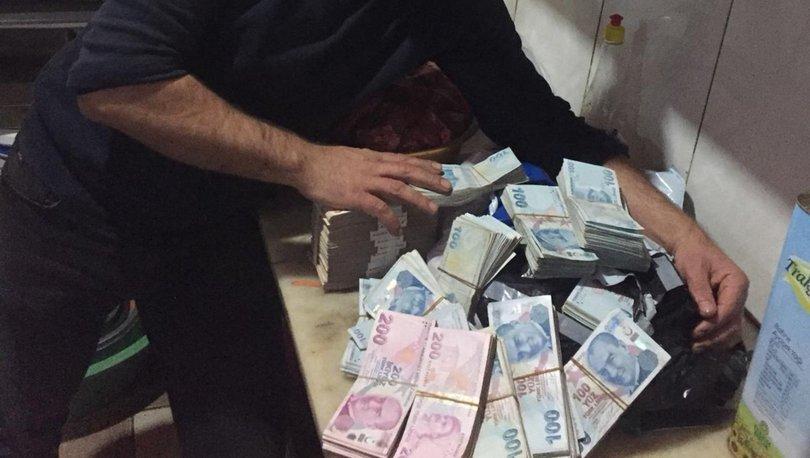 Malzeme sipariş etti, para dolu çanta geldi!