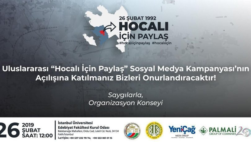 Hocalı Soykırımı'nın yıldönümünde sosyal medya kampanyası