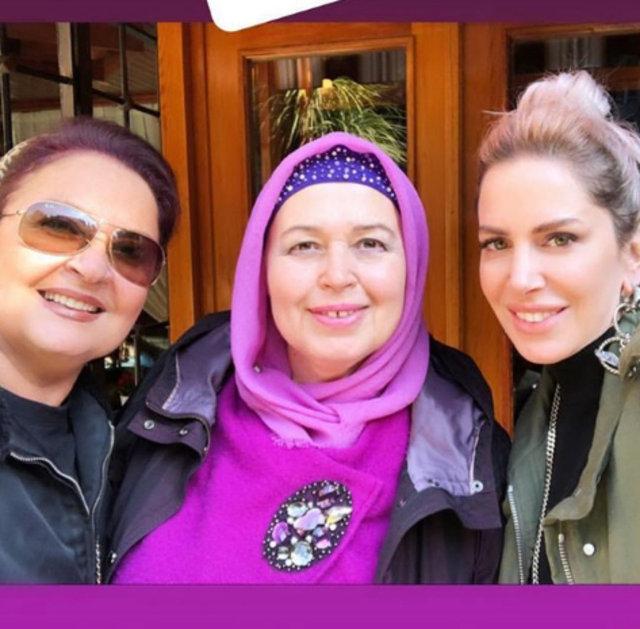 Selin İmer'den kayınvalidesi ve annesiyle selfie - Magazin haberleri
