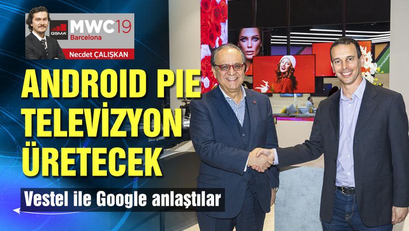 Vestel, Avrupa'ya Android Pie'lı TV üretecek