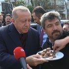 CUMHURBAŞKANI ERDOĞAN'A KOMŞULARINDAN SÜRPRİZ!