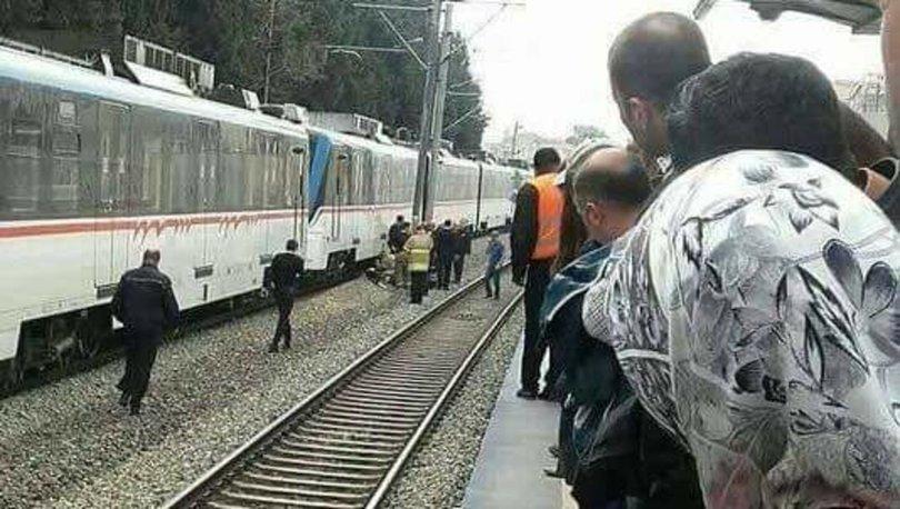 İZBAN istasyonunda korkunç intihar! Karşıyaka'da bir kadın İZBAN trenin altına atlayıp canına kıydı