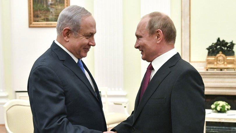 Netanyahu Putin ile Suriye'deki İran varlığını görüşecek!