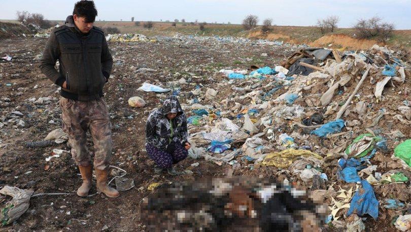 Kırklareli'nde çöplükten kan donduran vahşet çıktı