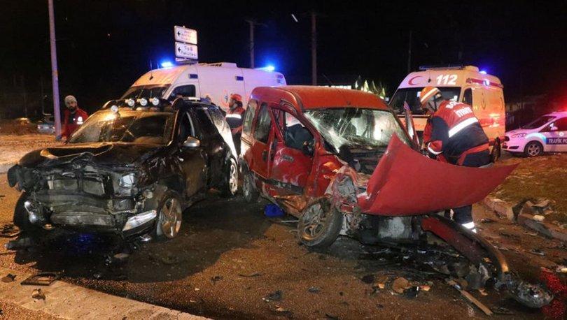 Bolu'da zincirleme trafik kazası! 4 yaralı