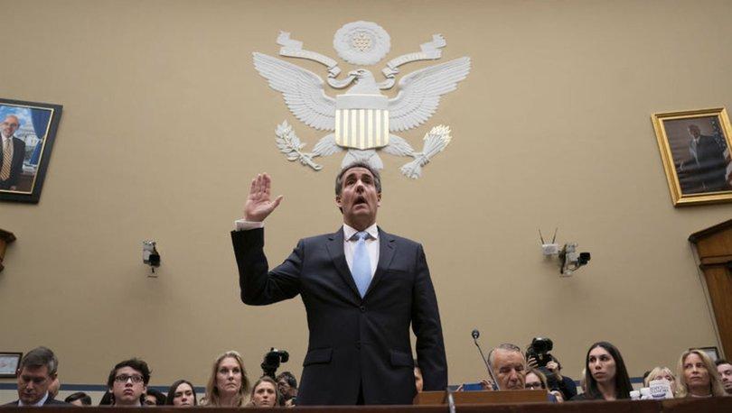 Eski avukatı Cohen'den Trump'a ağır suçlamalar