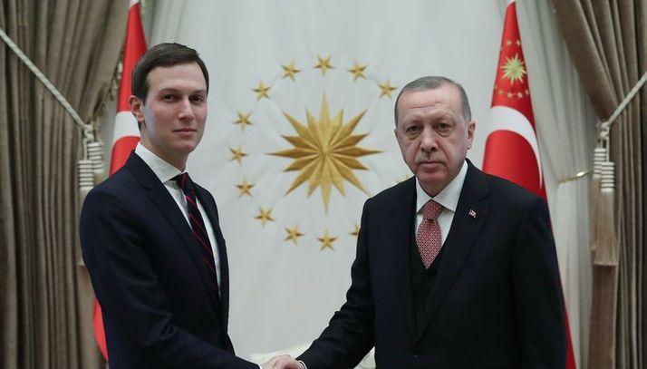Jared Kushner, Cumhurbaşkanı Erdoğan tarafından kabul edildi.