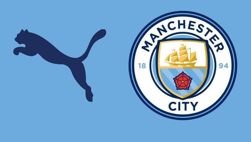 Manchester City Puma ile 650 milyon sterlinlik anlaşma sağladı