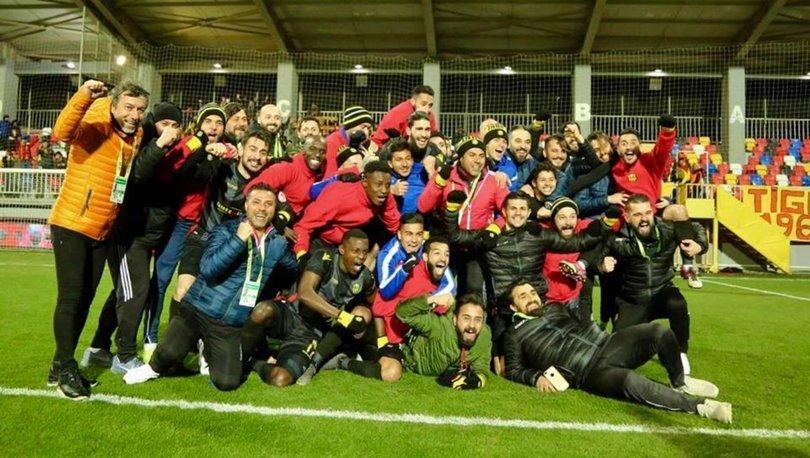 E. Yeni Malatyaspor tarihinde ilk kez yarı final oynayacak Başakşehir maçı hazırlıkları başladı