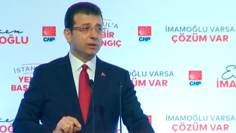 Ekrem İmamoğlu: İstanbullunun cebinden çıkan para azalacak