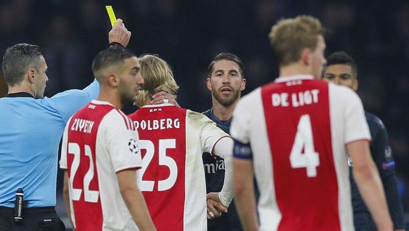 UEFA'dan Sergio Ramos'a 2 maç ceza!