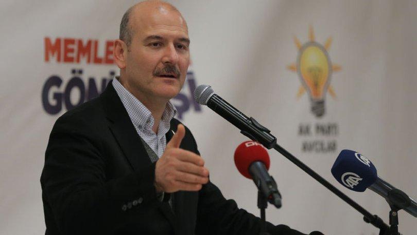İçişleri Bakanı Soylu'dan terörle mücadelede kararlık mesajları