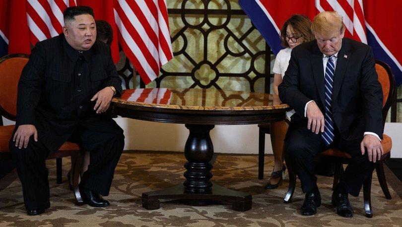 ABD basını Trump-Kim zirvesinin 'aniden bitişini' öne çıkardı