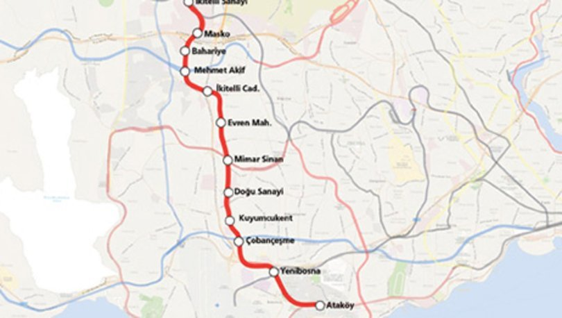 M9 Ataköy-İkitelli metro hattı ne zaman açılacak? Nerelere gidecek?