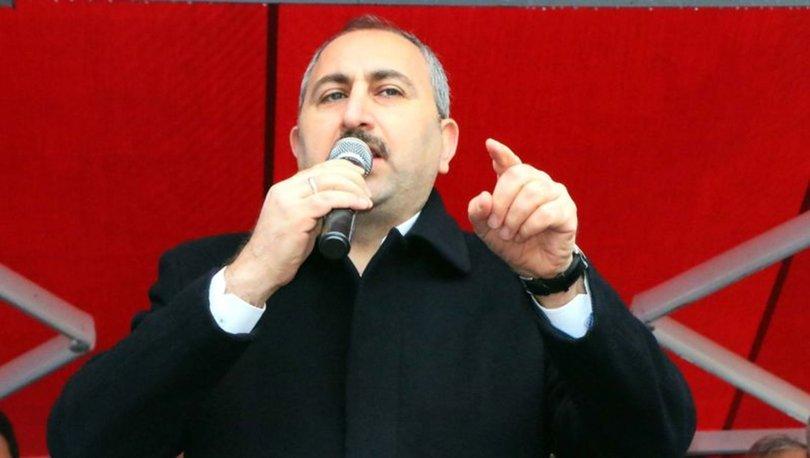 Adalet Bakanı'ndan 'terör koridoru' açıklaması