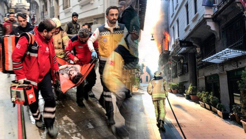 Son dakika facia: Beyoğlu'nda yangın! 4 kişi hayatını kaybetti