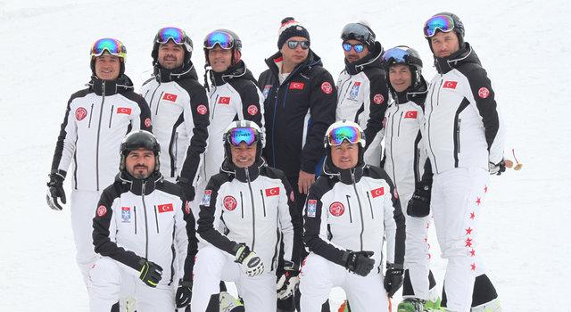Senkronize Kayak Milli Takımı'nın kampı devam ediyor - Magazin haberleri