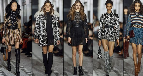Paris'te moda rüzgarı...