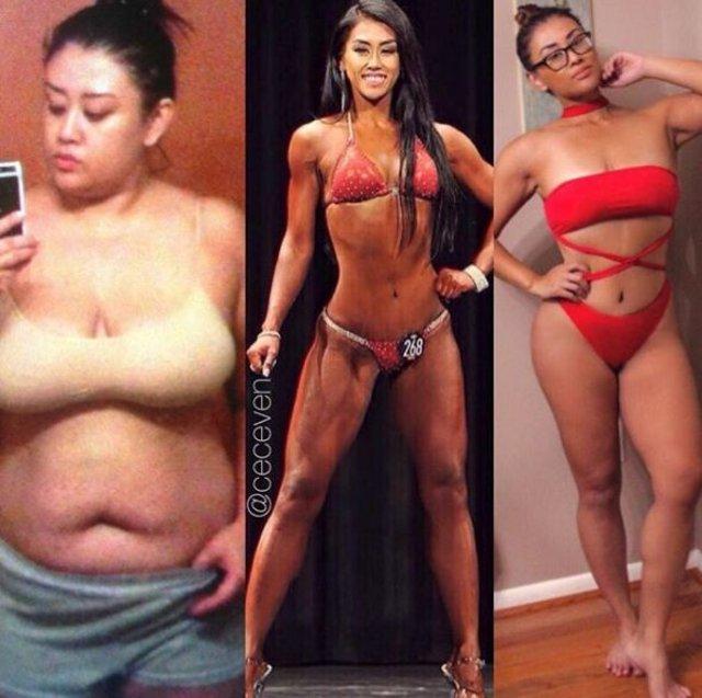 Kızıyla oynamak için çok iri olduğunu düşünen kadın 46 kilo verdi