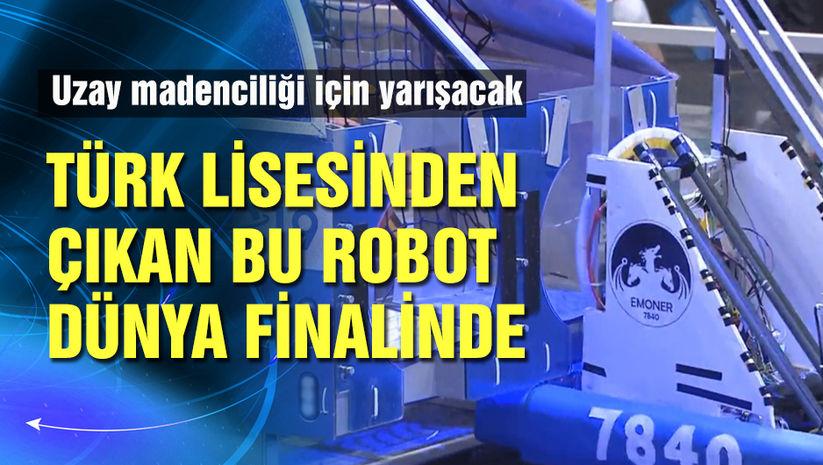 Türk öğrencilerin geliştirdiği robot ABD yolcusu