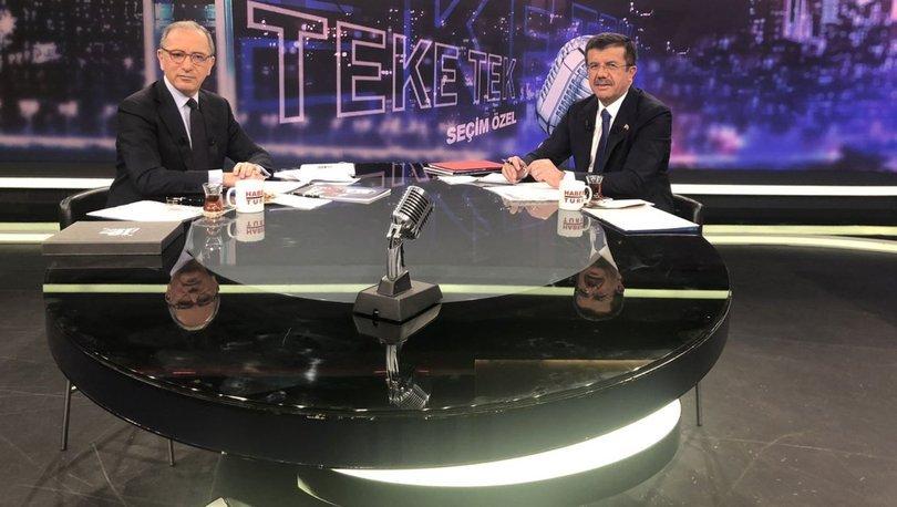 Son dakika... Nihat Zeybekci Habertürk'te soruları yanıtlıyor