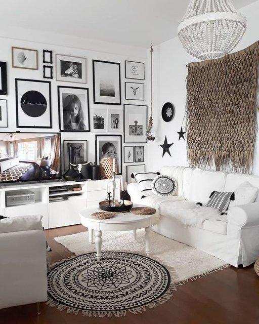 Televizyon ünitesi dekorasyonu için 10 fikir