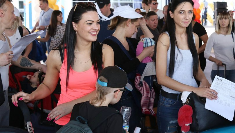 Rus turist sayısı
