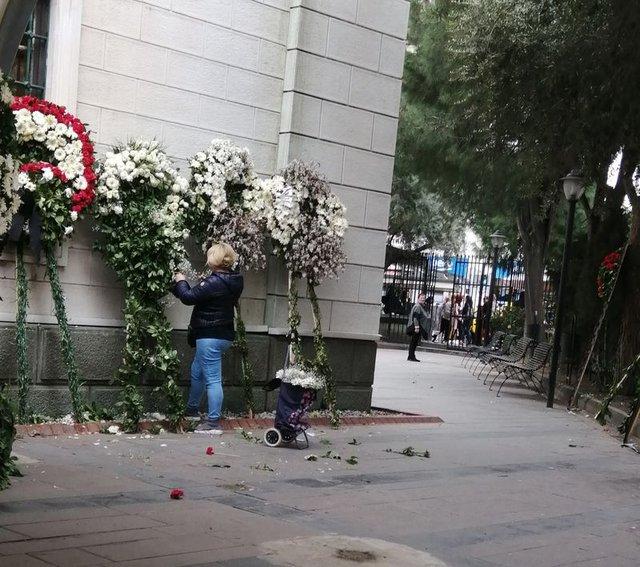 Demet Akbağ'ın eşi Zafer Çika'nın cenazesinde şok olay! - Magazin haberleri