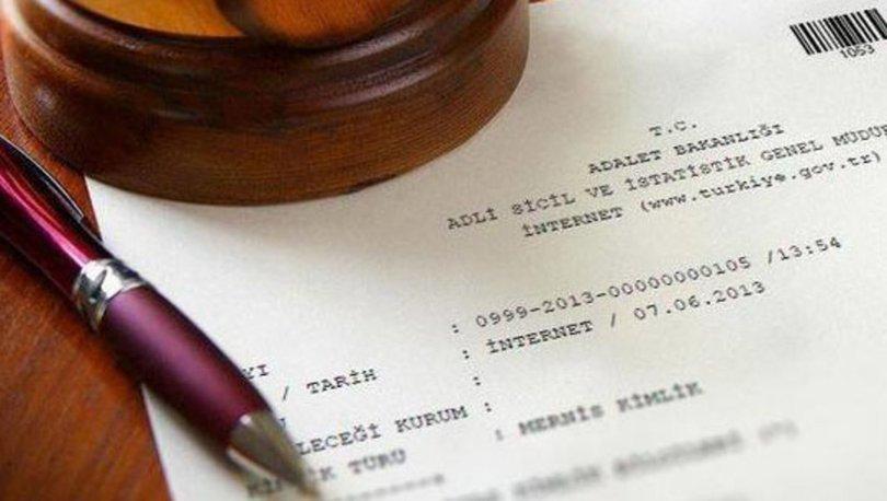 e-Devlet'ten sabıka kaydı sorgulama
