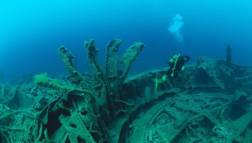 batık savaş gemileri