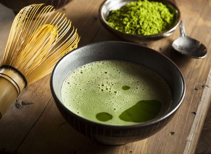 Yeşil çay...