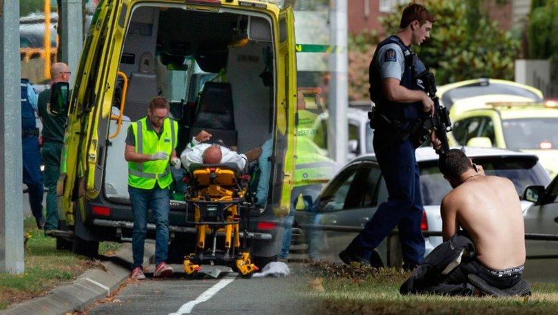 Yeni Zelanda camiye saldırı anı