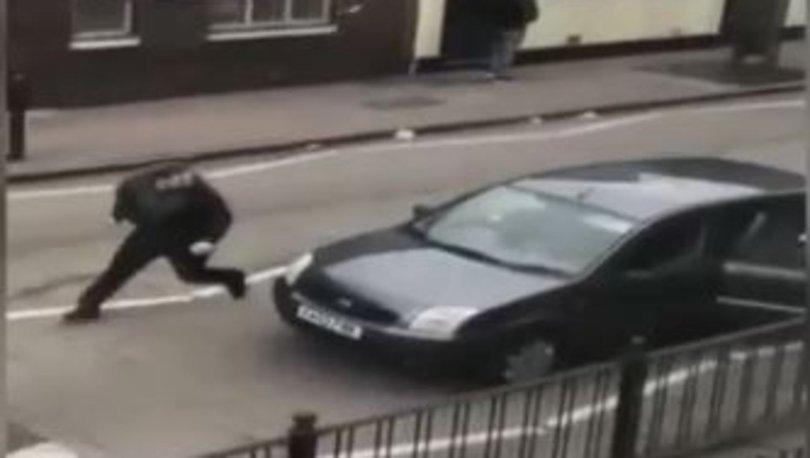 Londrada ırkçı saldırı