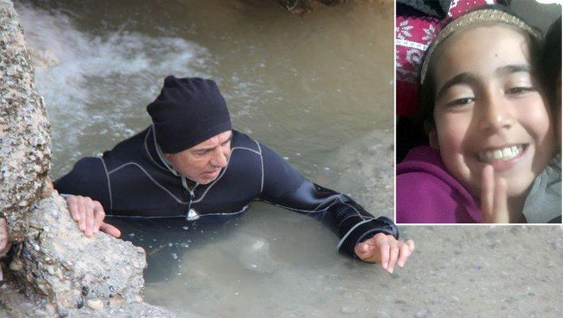 Sulama kanalına düştü