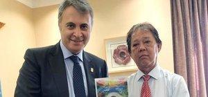 Fikret Orman'ın Malezya temasları