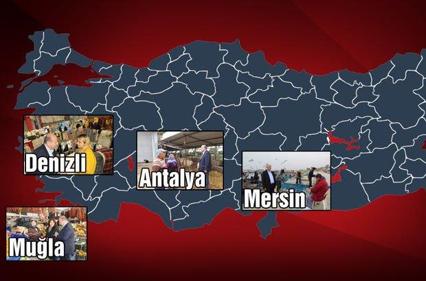 Akdeniz'de adayların kaderi ötekine dayalı